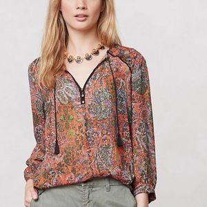 Anthropologie Edme & Esyllte Niya peasant blouse
